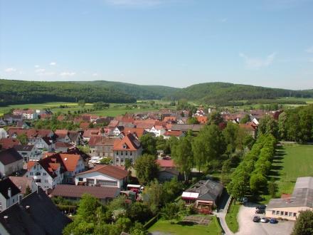Allmendingen-Blick-vom-Kirchturm